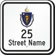 Custom Massachusetts Highway Sign
