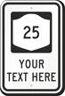 Custom New York Highway Sign