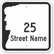 Custom NH Route 28 Highway Sign