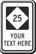 Custom North Carolina Highway Sign