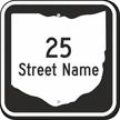 Custom Ohio Highway Sign