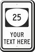 Custom Oregon Highway Sign