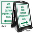 BigBoss Portable Custom Sidewalk Sign