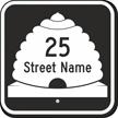 Custom Utah Highway Sign