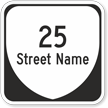 Custom Virginia Highway Sign