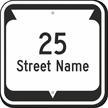 Custom Wisconsin Highway Sign