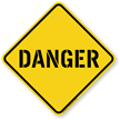Construction Danger Sign