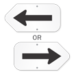 Directional Arrow Symbol Sign