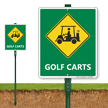 Golf Carts Sign