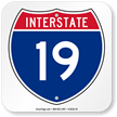 Interstate 19 (I-19)Sign