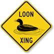 Loon Xing Animal Crossing Sign