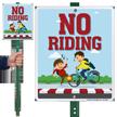No Riding