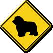 Sheepdog Symbol Guard Dog Sign