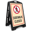 Sidewalk Closed A-Frame Sign Kit