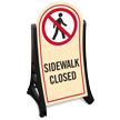 Sidewalk Closed A-Frame Sidewalk Sign Kit