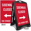 A-Frame Portable Sidewalk Sign