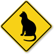 Sitting Cat Symbol Sign