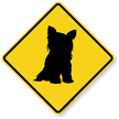 Terrier Symbol Guard Dog Sign
