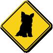 Terrier Symbol Guard Dog Sign