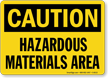 Yellow Hazardous Sign