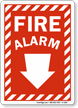 Red Alarms Sign