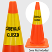 Sidewalk Closed Cone Collar