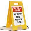 FloorBoss XL™ Floor Stand Sign