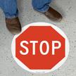 Stop SlipSafe™ Floor Sign