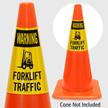 Warning Forklift Traffic Cone Collar
