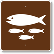 Fish Hatchery, MUTCD Guide Sign for Campground
