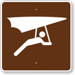 Hang Gliding, MUTCD Guide Sign for Campground
