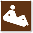 Snow Tubing, MUTCD Guide Sign for Campground