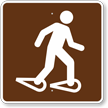 Snowshoeing, MUTCD Guide Sign for Campground