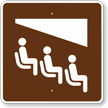 Theater, MUTCD Guide Sign for Campground