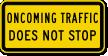 MUTCD Road Traffic Sign
