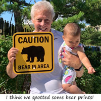 Bear sign makes a great gift