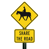 Share the Road Sign Share the Road Sign