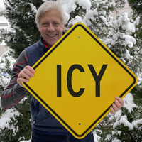 Icy sign