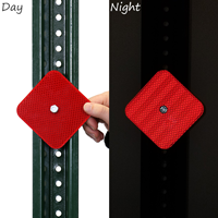 High Intensity Reflective Delineator Red Sign