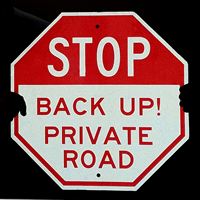 Stop, Road Traffic Sign