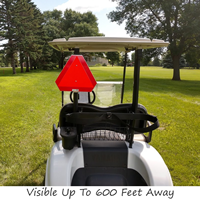 Golf Cart Slow Moving Vehicle Sign