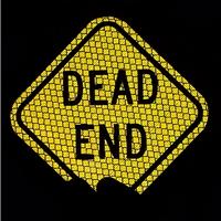 Mini Dead End Diamond-Shaped Sign