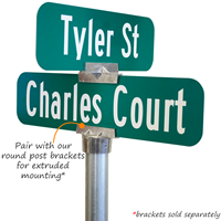 8' Tall Sign Post