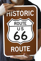 Novelty Route 66 Signs