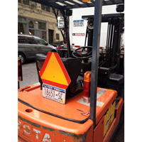 Forklift Slow Moving Vehicle Sign