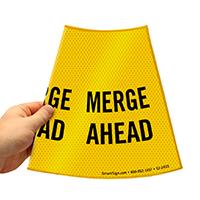 Merge Ahead Parking Ahead