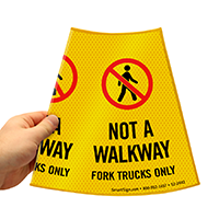 Not A Walkway Sign