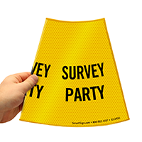 Survey Party Road Traffic Sign