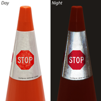 Stop Cone Message Collar
