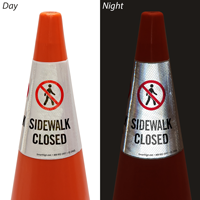 Sidewalk Closed Cone Message Collar